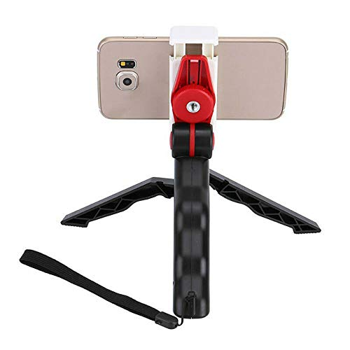 ELECTROPRIME 1X(2 in 1 Mini Portable Folding Table-top Tripod Stand + Handheld Grip for C4F1