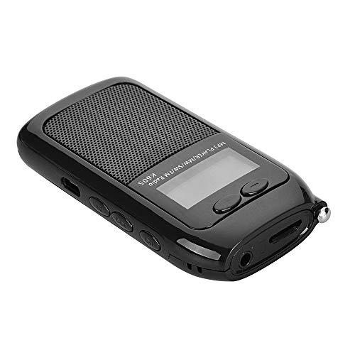 KKmoon SW FM MW Radio Mini Pocket Stereo Radio Receiver Digital MP3 Music Player with Headphones Support TF Card
