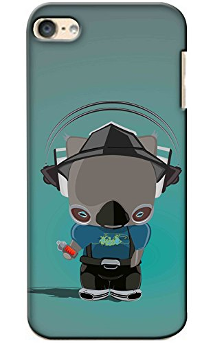 Snooky Printed Mobile Back Cover of Apple iPod Touch 6 - Multi