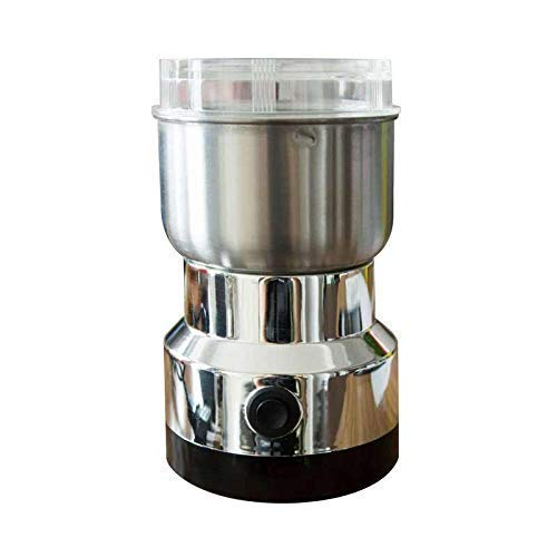 HomeExpo Stainless Steel Electric Multi-Functional Coffee Grinder Herbs Spices Nuts Grains Coffee Bean Grinder Machine for Home Kitchen Cafe
