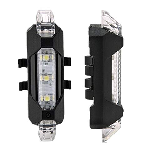 Oblivion Rechargeable Bicycle Front Waterproof LED Light (White)