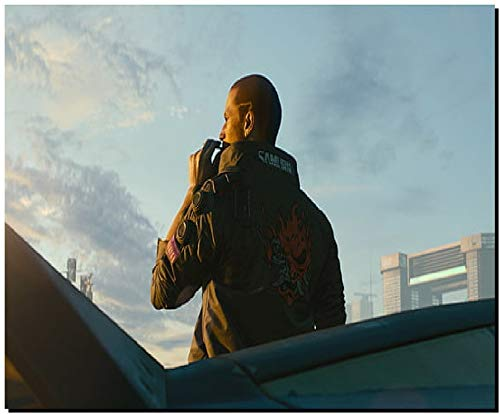 SKY DOT Cyberpunk 2077 Video Game Art cd projekt red (18) Multicolor Mousepad