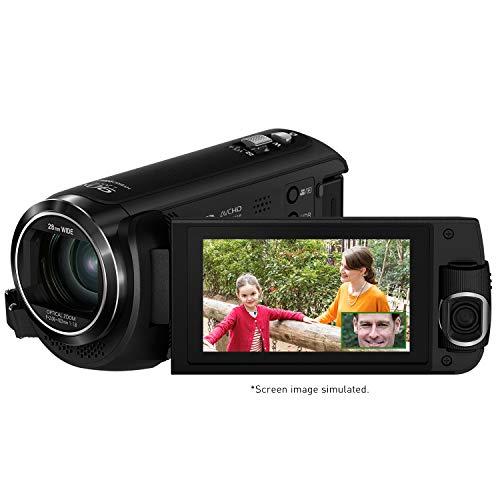 Panasonic HC-W580K Full HD Camcorder with Wi-Fi, Built with Multi Scene Twin Camera (Black)