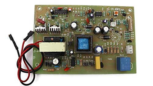 ERH INDIA Multicolor Mother Board & PCB of CFL Inverter 45 watt Used for Wi Fi & Mobile Charger & DC Fan