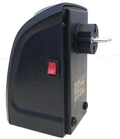The Aaho Abs Plastics Electric Handy Room Heater Compact Plug-in (400 W_Black) Aaho-75