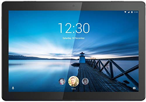 (Renewed) Lenovo Tab M10 Tablet (10.1 inch, 16GB, Wi-Fi + 4G LTE), Slate Black