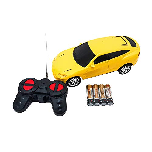 remote control car battery operated super high speed racing car with 4 function remote car (forward, backward, left, right) with 3d light projection. assorted design and Multi color