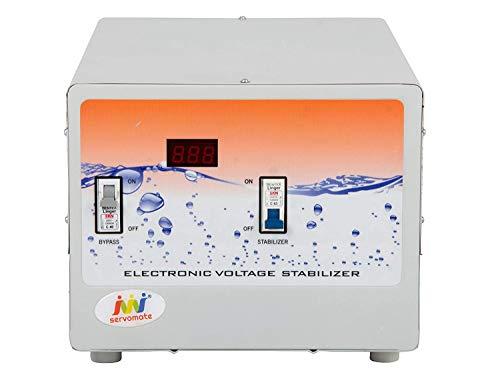 Servomate 5KVA (50v-280v) Mainline Automatic Voltage Stabilizer with (200v-240v) Output Voltage, 100% Copper, Single Phase Floor Model