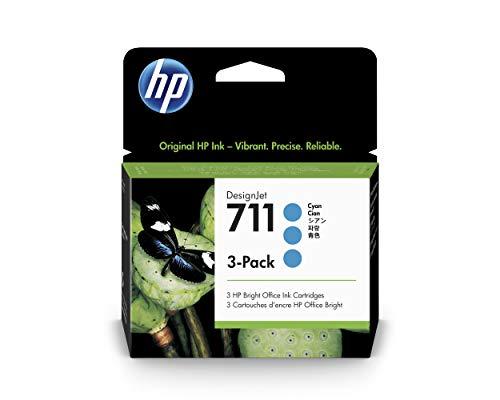 HP Ink Cartridge, 29 ml, 3/PK, Cyan, Sold as 1 Package - Hewlett-Packard Ink Cartridge, 29 ml, 3/PK, Cyan