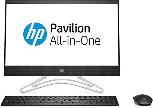 HP AIO - 22 - c0019il - Pavilion 2018 21.5-inch All-in-One Desktop (8th Gen i3-8130U/4GB/1TB/Free DOS 2.0/Integrated Graphics), Snow White