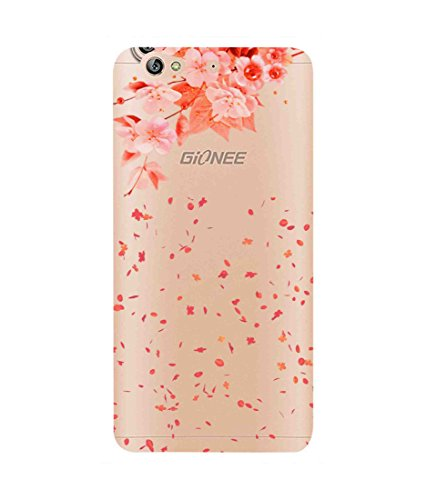 Snooky Printed Flower Mobile Back Cover of Gionee Elife S6 - Multicolour