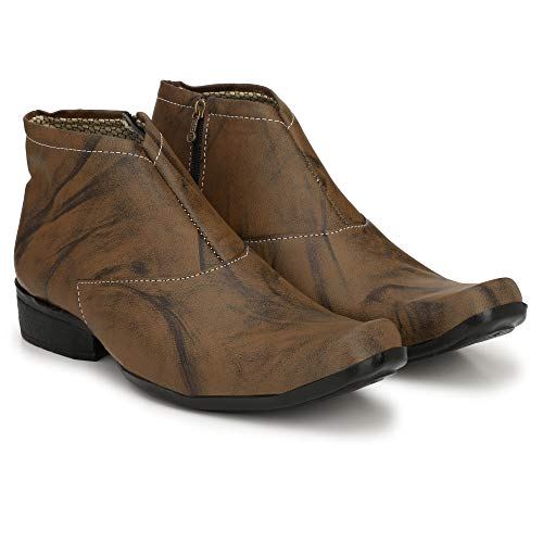 SHOE DAY Men's Leather Boots