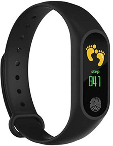 Dronean ASD258 Smart & Fitness Bluetooth M2 Wrist Band for Boys | Girls | & Kids with OLED Touch Screen Waterproof Body Compatible with All Devices [Multicolor]
