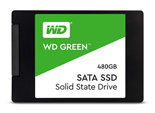 WD Green 480GB Laptop Internal Solid State Drive (WDS480G2G0B)