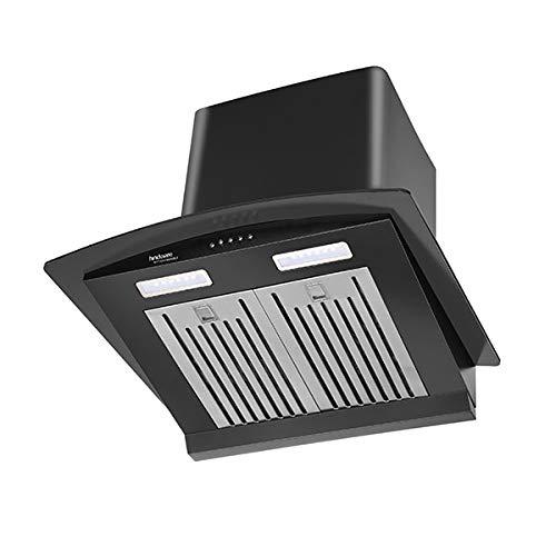 Hindware Victoria 600 Auto Clean Chimney (Black)