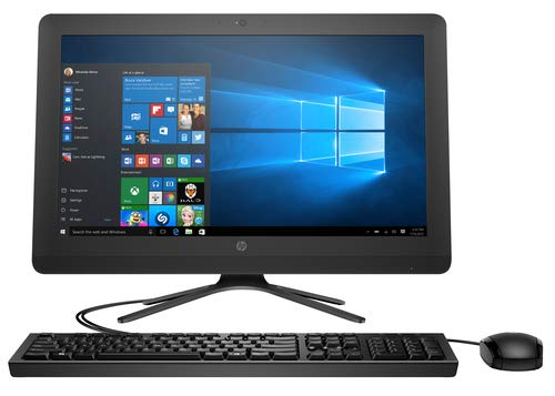 HP AIO 22–b411in 21.45-inch All-in-One Desktop (7th Gen i3 7100u/8GB/1TB HDD/Windows 10/Intel UHD 620 Graphics), Jet Black