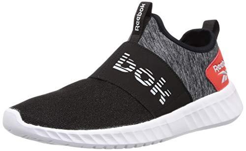Reebok Men's Prime Slip On Lp Black/Canton Red Running Shoes-6 UK (39 EU) (7 US) (FW1625)