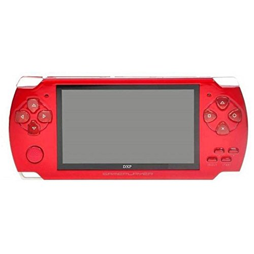 Gadget-Wagon ECO-1 8 GB 4.3 Inches With FM Radio & 1.3 MP Camera (R) 8 GB With Contra, Mario, 10000 Games Inbuilt (Red)