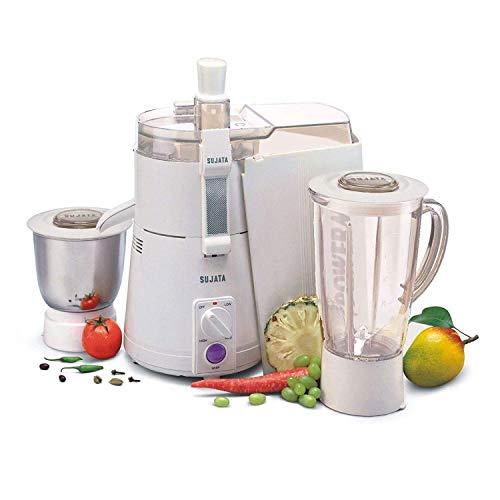 Sujata Mixer Grinder, 900W (White)