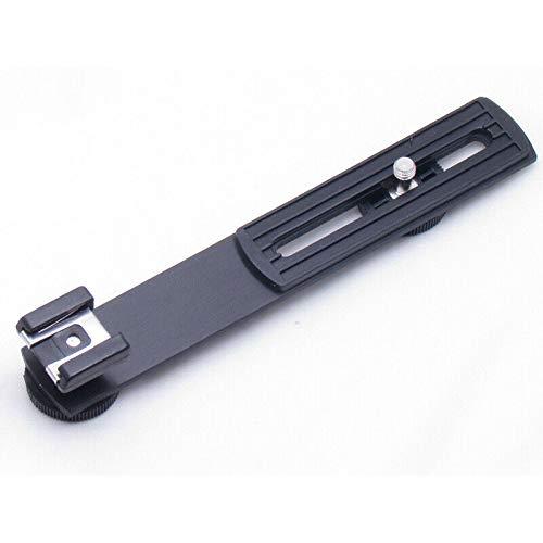 "ELECTROPRIME Camera Flash Bracket Hot Shoe Flashgun 1/4""Screw Hole Dc Arms Mount Tripods"
