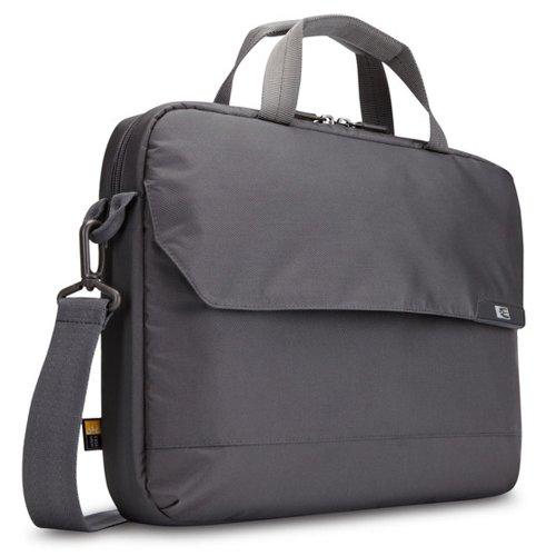 Case Logic Mla-114 14.1-Inch Laptop/MacBook Air/Pro Retina Display and Ipad Attache' (Gray)