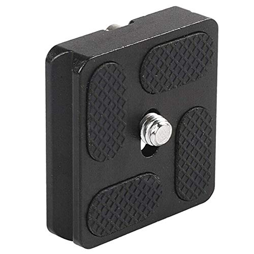 ELECTROPRIME PU40 Quick Release Plate for J1 N1 Tripod Ball Head Arca Swiss with 1/4 inc P8B4