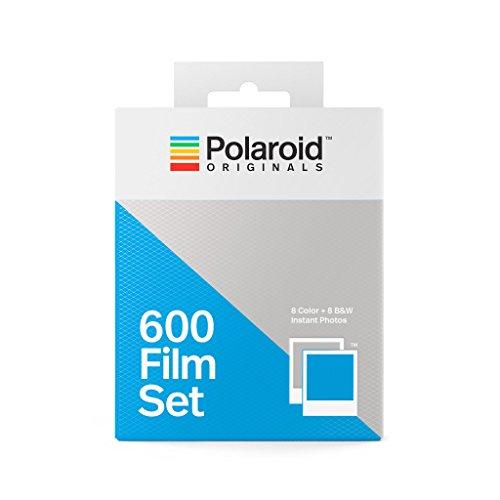 Polaroid 4844 600 Film Set (1 Color- 1 B&W), White