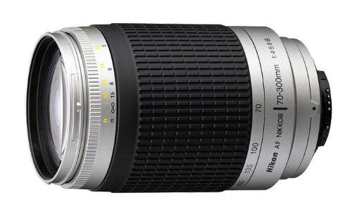 Nikon AF Zoom-Nikkor 70-300mm f/4-5.6G with 4.3x Optical Zoom (Black-Silver)