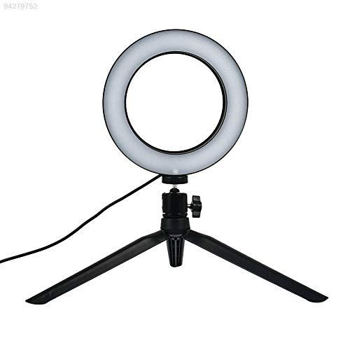ELECTROPRIME 4EC1 6 '' Selfie Universal 6 Inch LED Ring Light W/Tripod Camera Ajustable