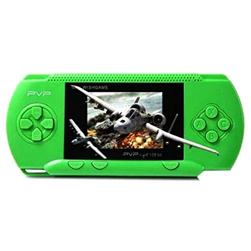 Digital PVP Play Station 3000 Digital Games PSP Game Console Full HD Games 3000 in built games TV Video Game (Green)