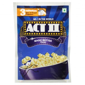 Act II Magic Butter Flavour 3 Minutes 40gm (Pack of 10)