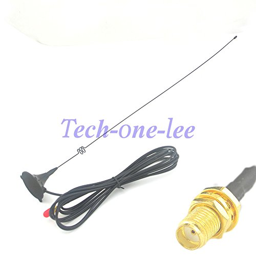Generic 3dBi Antenna GSM SMA Female Wireless Modem Router 3M Cable Radio Magnetic Base