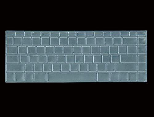 Laprite Premium Keyboard Skin for HP Pavilion x360 14-ba075TX 14-Inch Laptop - Transparent