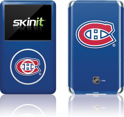 Skinit Protective Skin Fits iPod Classic 6G (NHL Montreal Canadians)