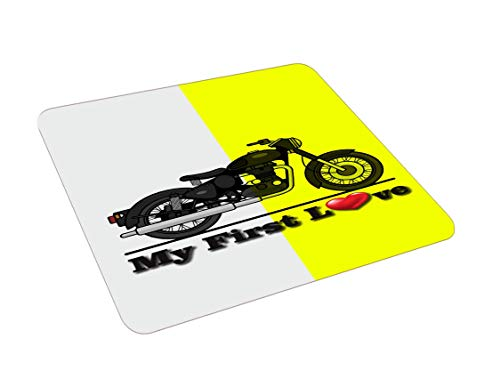 ECFAK Bullet Love Rubber Based HD Quality Printed Mouse Pad