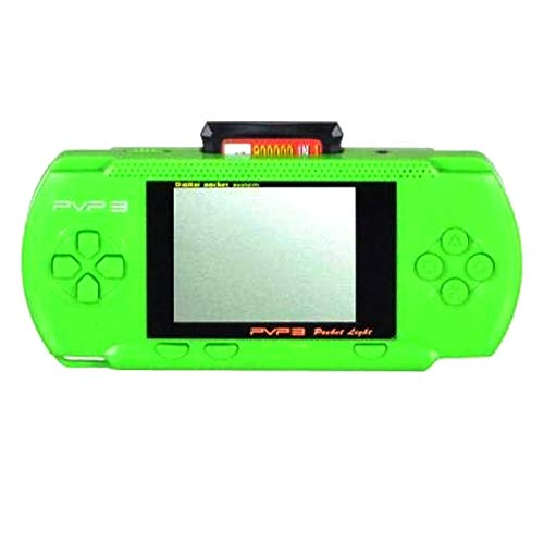 TV Video Game Digital PVP Play Station 3000 Digital Games PSP Game Console Full HD Games 3000 in built games (Green)