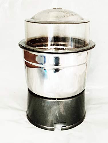 Select Mixer Grinders Medium Jar for Bajaj, Pigeon, Kenstar, Maharaja, Usha, Orient, Inalsa, Singer, Rico (400ml, Black)