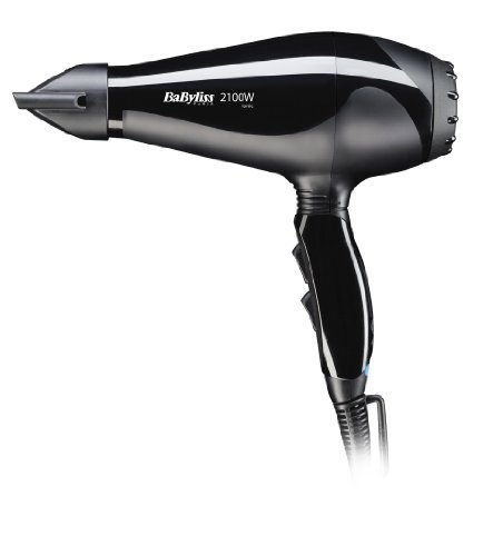 Babyliss 6610E LE PRO LIGHT AC DRYER 2100W Hair Dryer, (Black)