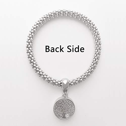 DIYthinkerMon Amour My Love Quote Style Sliver Bracelet Pendant Jewelry Chain Adjustable Bangle