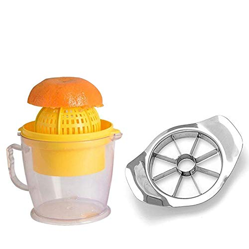 Ganesh shop Combo Offer/Ganesh shop Hand Juicer Two in One Orange & Graps Watermelon Juicer Hand Press Manual Juicer/Ganesh shop Stainless Steel Premium Apple Cutter