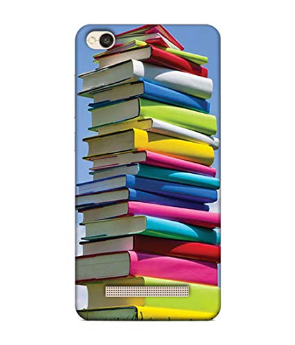 S SMARTY Designer Printed Plastic Mobile Back Case Cover Redmi 4A (Collection of Books)