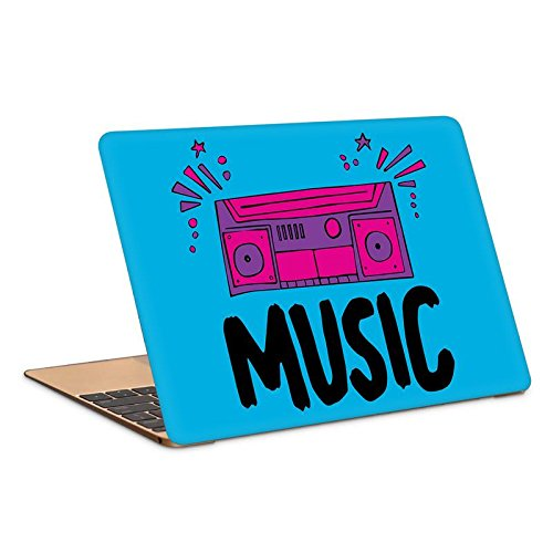 "Postergully 17"" Laptop Skin - Music Boombox"
