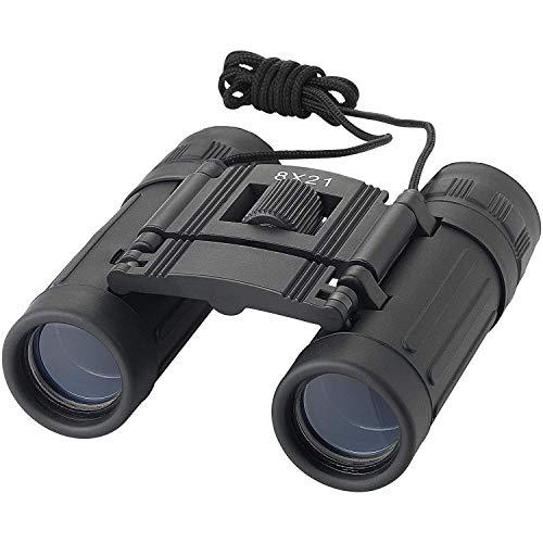 JEMICA Binoculars for Adults, HD Professional Binoculars for Bird Watching Travel Stargazing Hunting Concerts Sports for Both Adults & Kids, Waterproof (Black) (8 x 21)