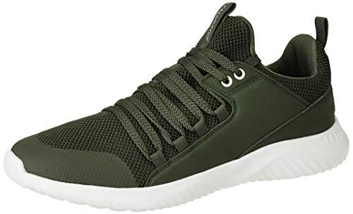 Amazon Brand - Symactive Men's Olive Running Shoes-8 UK (SYM-ET-006A)