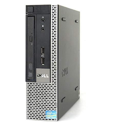(Renewed) Dell Optiplex MINI 7010 Desktop USFF (Core I3 2100 3.10ghz, 4 GB RAM, 500gb HDD, Win 10 Pro, MS Office/ Intel HD Graphics/, USB 3.0, Ethernet,VGA), Black