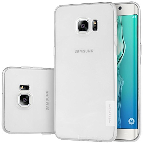 Nillkin Cell Phone Case for Samsung Galaxy S6 Edge Plus - Retail Packaging - White