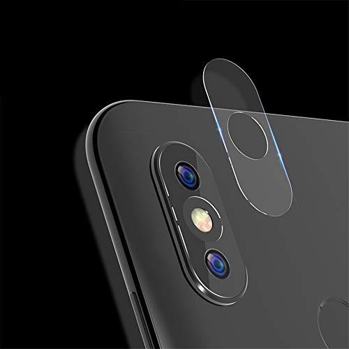 CHENGLHILINGS Smartphone Camera Lens Protection Sleeve 10 PCS for Xiaomi Redmi S2 2.5D Transparent Rear Camera Lens Protector Tempered Glass Film