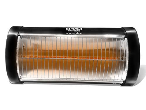 Maharaja Whiteline 500 Watt Nano Carbon Room Heater with Superior Carbon Rod Technology (Black)