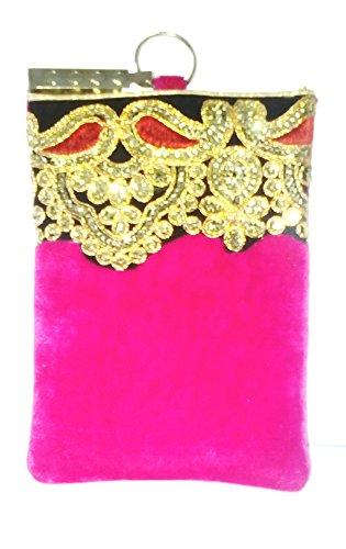 Edens Velvet Stone Zari Pink Mobile Cover