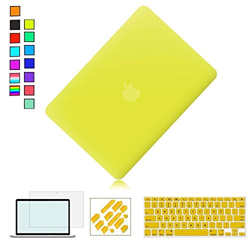 """Go Crazzy Macbook Pro 13-Inch With Retina Display Case Cover Rubberized With Hard Case Cover For Macbook Pro 13"""" 13.3"""" 13-Inch With Retina Display Shell Cover Case + Get Silicone Keyboard Guard ++LCD Screen Protector+ Touchpad Protector For Macbook Pro 13"""" 13.3"""" 13-Inch With Retina DisplayA1502/A1425"""
